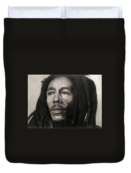 Bob Marley Drawing Duvet Cover