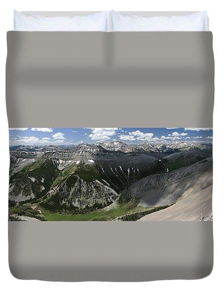 Bob Marshall Wilderness Duvet Cover