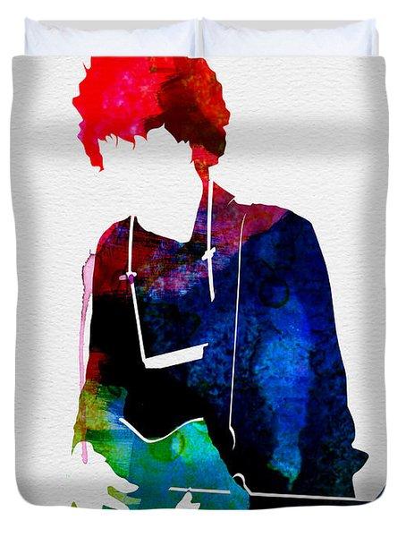 Bob Watercolor Duvet Cover
