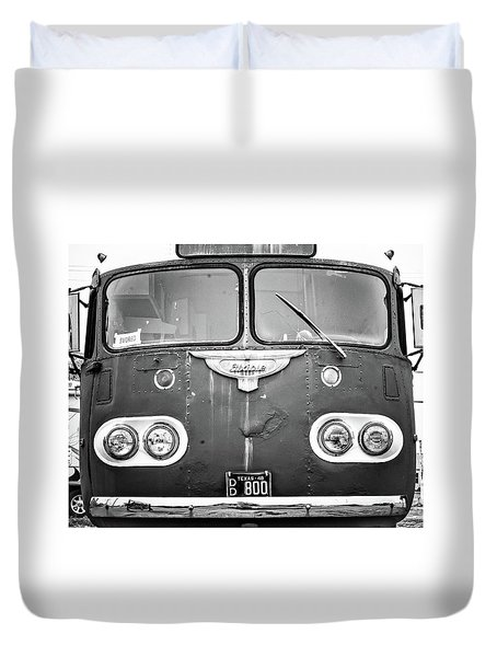 Bob Wills Tour Bus Bw Duvet Cover