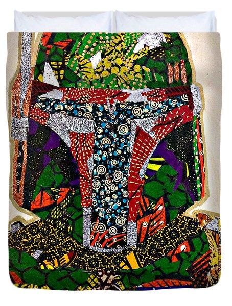 Boba Fett Star Wars Afrofuturist Collection Duvet Cover