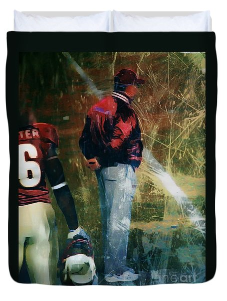 Bobby Bowden Duvet Cover by Paul Wilford