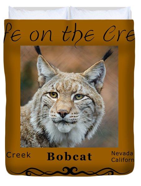 Bobcat - Lynx Rufus Duvet Cover