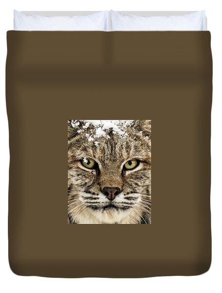 Bobcat Whiskers Duvet Cover
