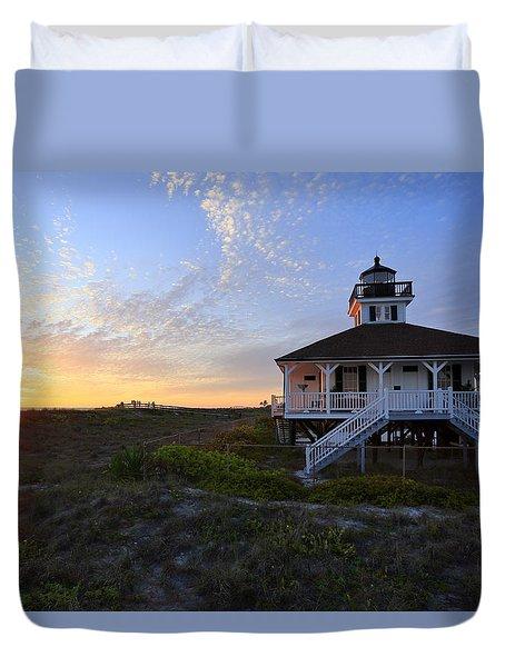 Boca Grande Lighthouse, Gasparilla Island, Florida, U S A Duvet Cover