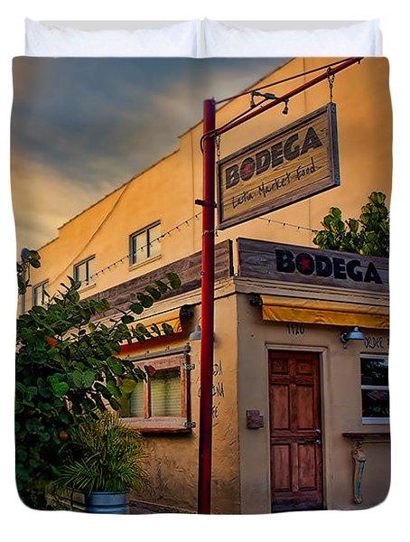 Bodega Duvet Cover