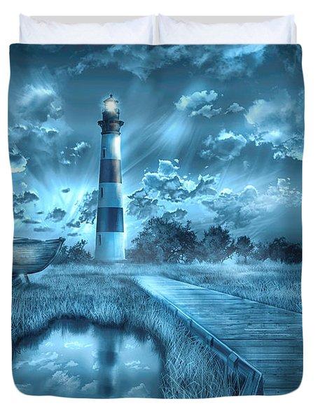 Bodie Island Lighthouse 2 Duvet Cover