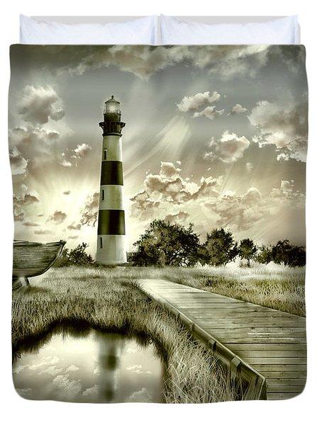 Bodie Island Lighthouse 3 Duvet Cover