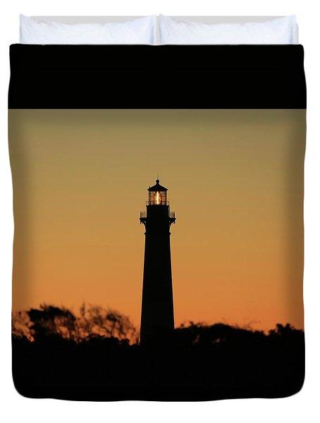 Bodie Light At Sunset Duvet Cover