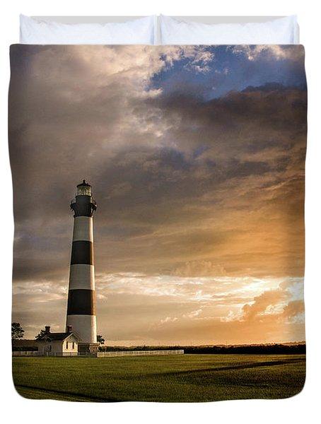 Bodie Lighthous Landscape Duvet Cover
