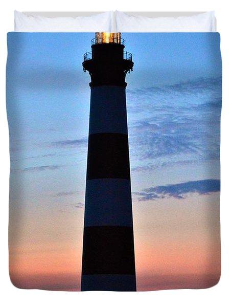 Bodie Lighthouse 7/18/16 Duvet Cover