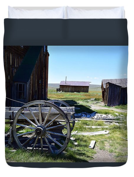 Bodie Wagon Duvet Cover