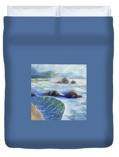 Bodiga Bay #2 Duvet Cover
