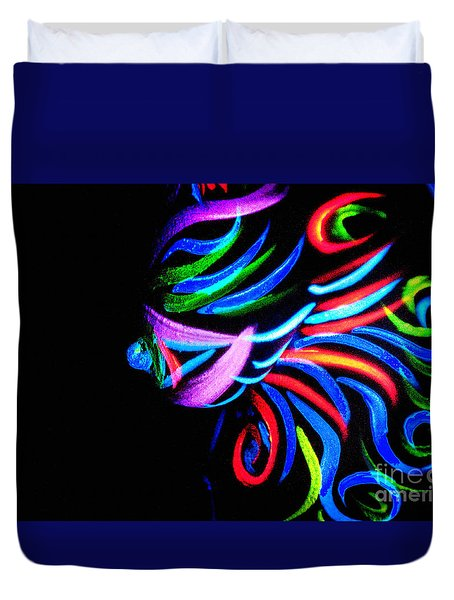 Body Art Breast Duvet Cover