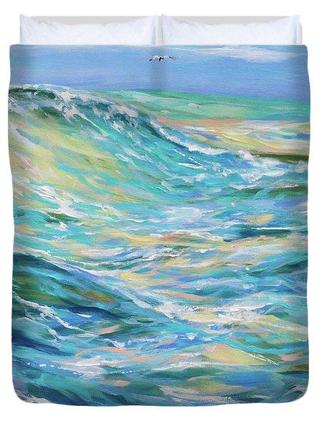 Bodysurfing North Duvet Cover