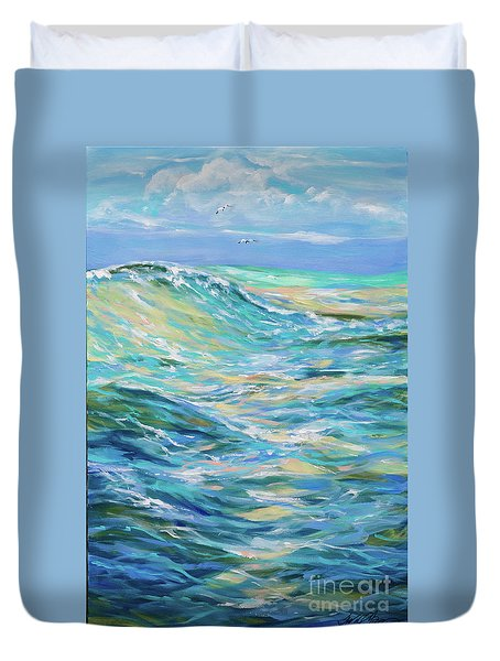 Bodysurfing North Duvet Cover