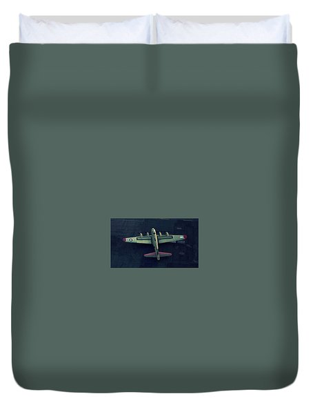 Boeing B-17 Flying Fortress Duvet Cover