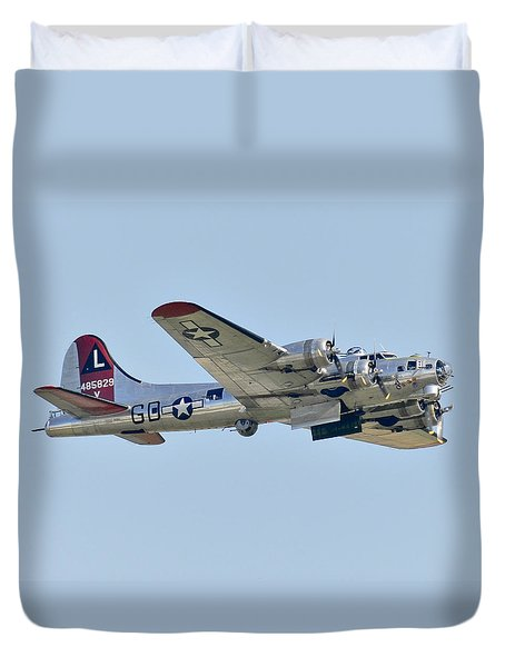 Boeing B-17g Flying Fortress Duvet Cover