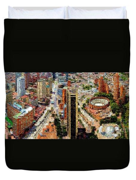 Bogota Colombia Duvet Cover