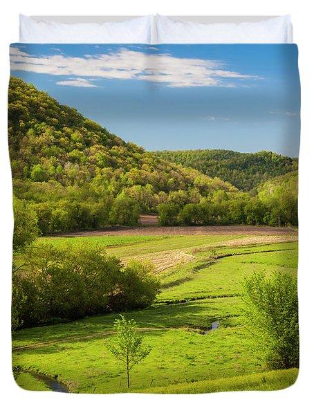 Bohemian Valley Duvet Cover