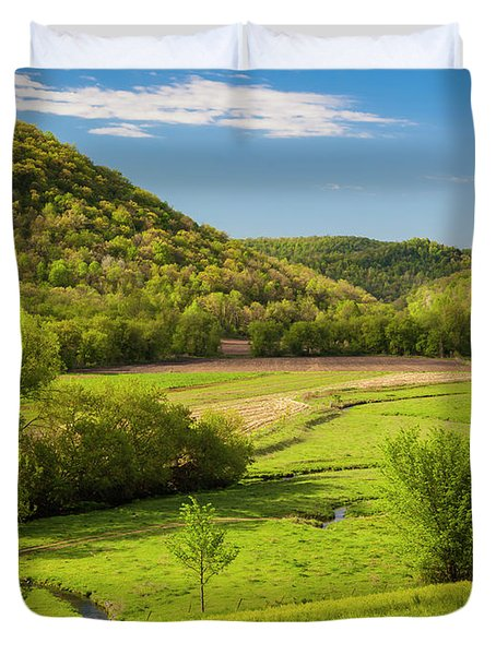 Bohemian Valley Duvet Cover