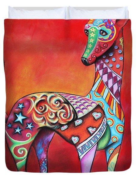 Italian Greyhound  Duvet Cover