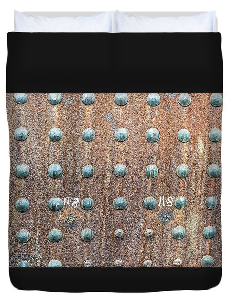 Boiler Rivets Duvet Cover