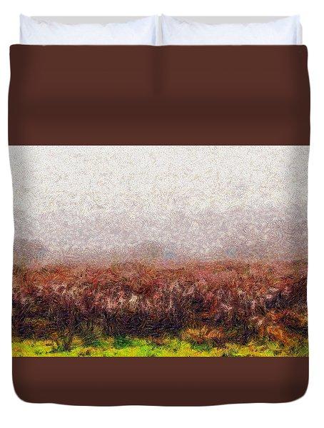 Boiling Field Duvet Cover