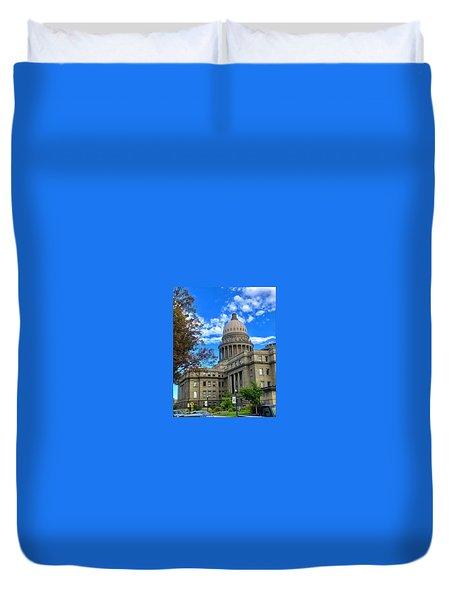 Boise Idaho Capitol Bldg Duvet Cover