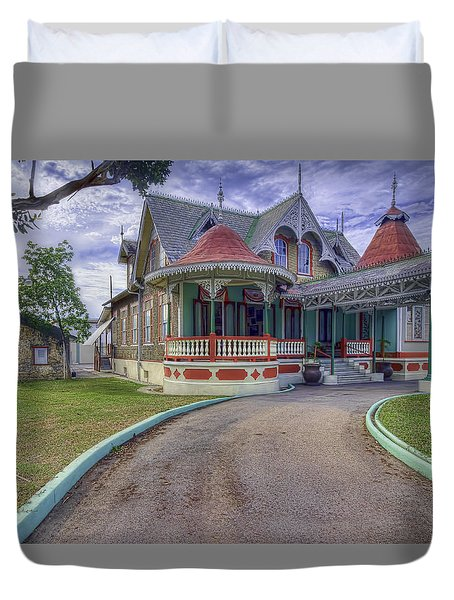 Boissiere House Duvet Cover