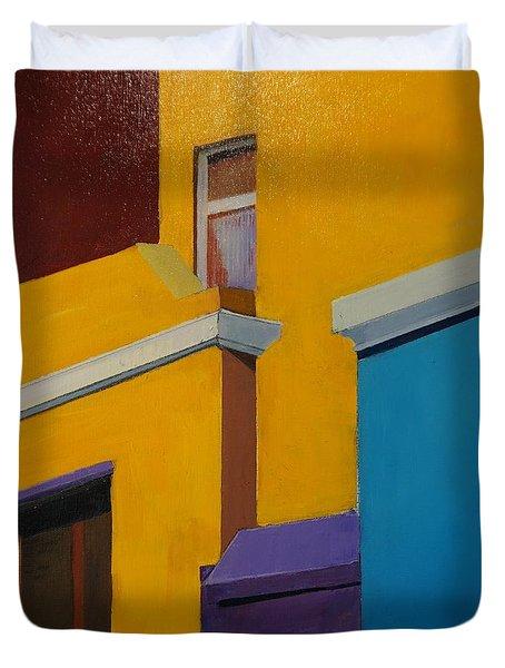 Bokaap Indian Yellow Duvet Cover