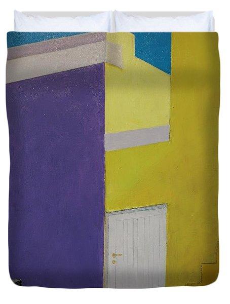 Bokaap Purple Duvet Cover