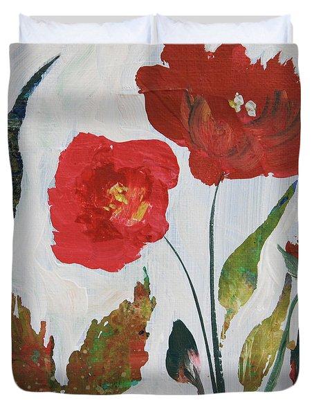 Bold Blooms Duvet Cover