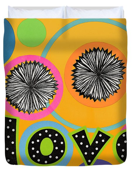 Bold Love Duvet Cover