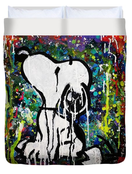 Bold.snoopy Duvet Cover