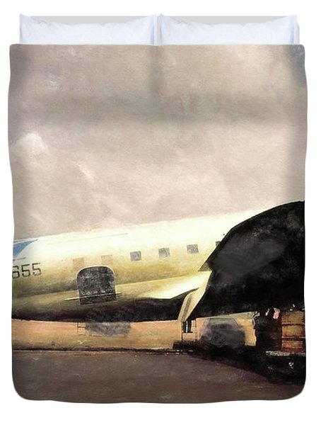 Bolivian Air Duvet Cover by Michael Cleere