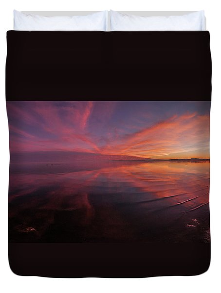 Bombay Beach Duvet Cover