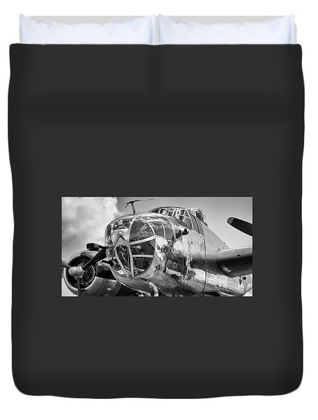 Bomber's Eye View Duvet Cover
