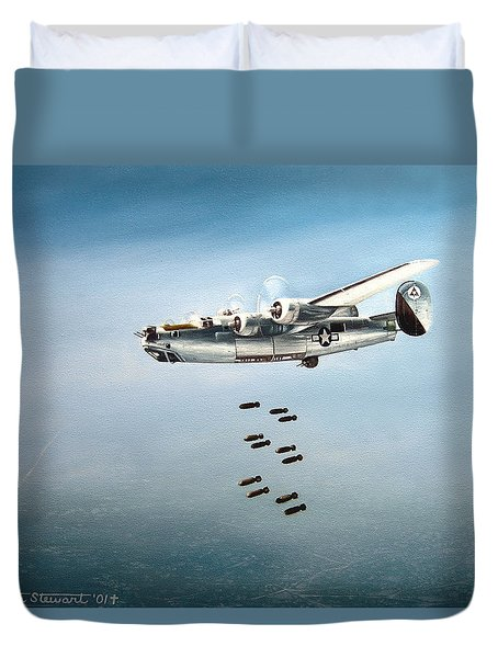 Bombs Away Duvet Cover by Marc Stewart