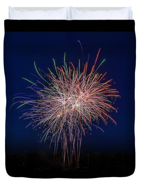 Bombs Bursting In Air Duvet Cover