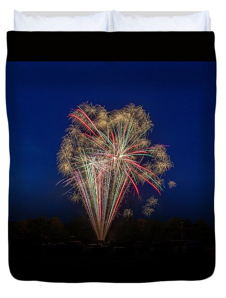Bombs Bursting In Air II Duvet Cover