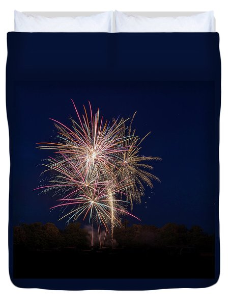 Bombs Bursting In Air IIi Duvet Cover