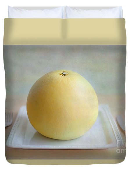 Duvet Cover featuring the photograph Bon Appetit by Aiolos Greek Collections