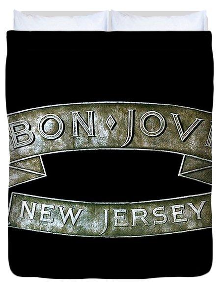 Bon Jovi New Jersey Duvet Cover