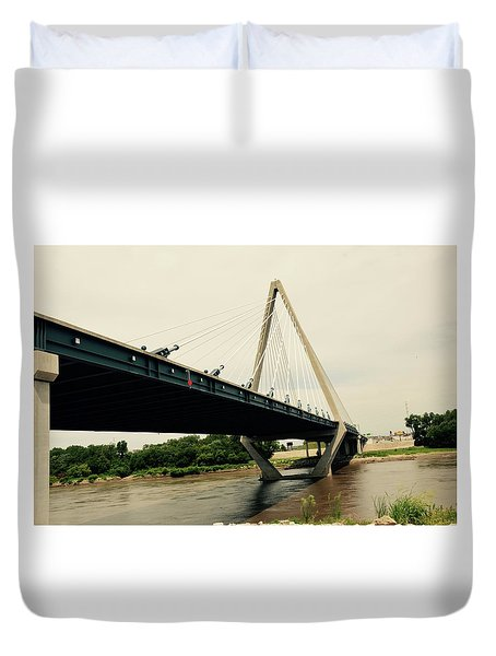 Bond Bridge  Kansas City Missouri Duvet Cover