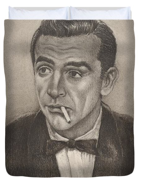 Bond From Dr. No Duvet Cover