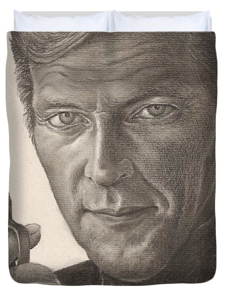 Bond Portrait Duvet Cover