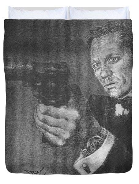 Bond Portrait Number 3 Duvet Cover