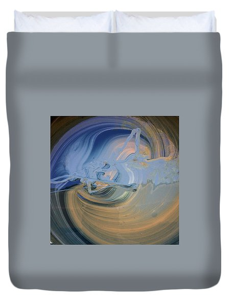 Boney Grandma Flight Duvet Cover