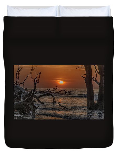 Boneyard Beach Duvet Cover
